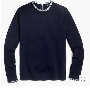 J. Crew #H0273 Women's Sweater RuffleNWT XL